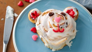 Teddy Bear Cinnamon Rolls