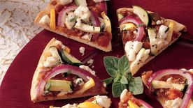 Ratatouille Appetizer Pizza