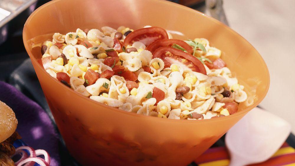 Corn and Black Bean Pasta Salad