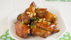 Sweet and Sour Wings with Sriracha