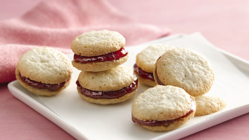 Gluten-Free Almond Macarons with Raspberry Filling