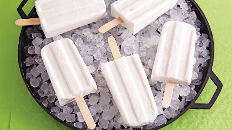 Coconut Ice Pops