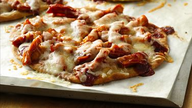 Gluten-Free Barbecue Chicken Mini Pizzas