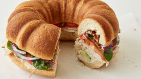 Turkey-Bacon-Avocado Bundt-wich