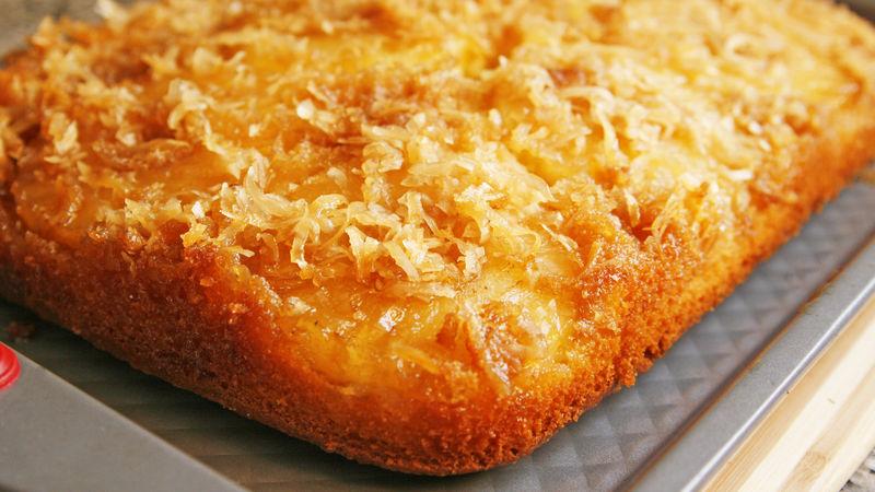 Betty Crocker Pina Colada Upside Down Cake