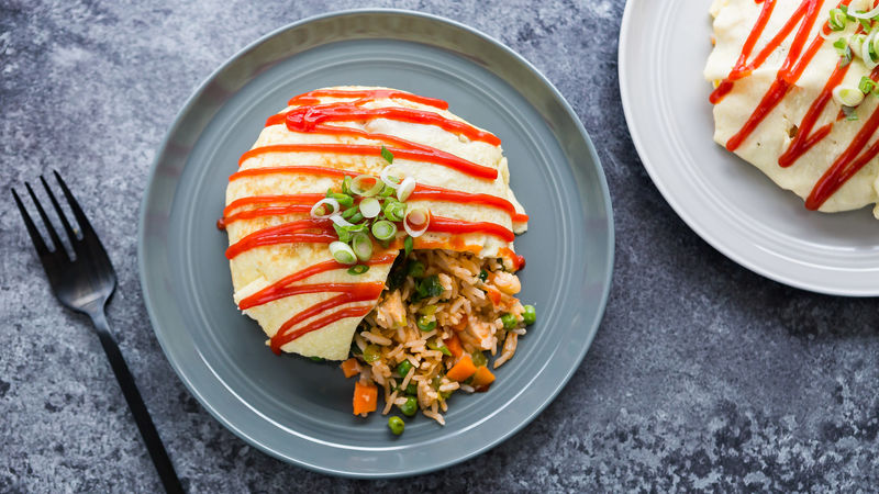 Omurice (Omelet with Fried Rice)