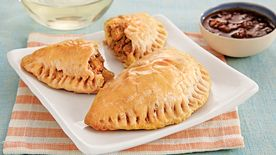 Do-Ahead Pork Picadillo Empanadas