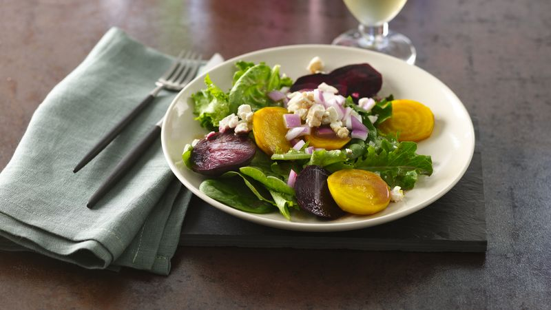 Beet and Baby Greens Salad