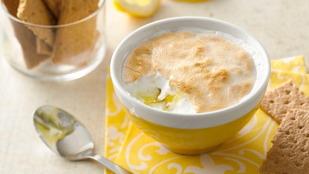 Lemon Meringue Yogurt Cup