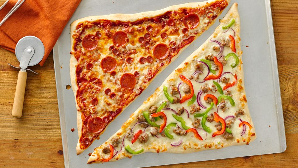 Giant Pizza Wedges