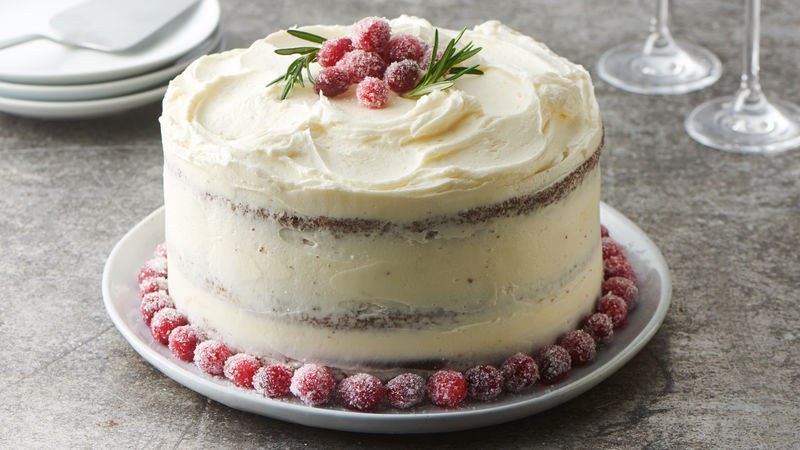 Christmas Cake.Chocolate Christmas Celebration Cake