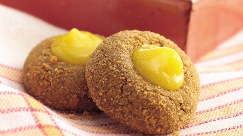 Lemon-Ginger Thumbprints