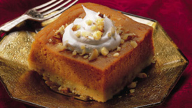 Luscious Lemon-Pumpkin Dessert