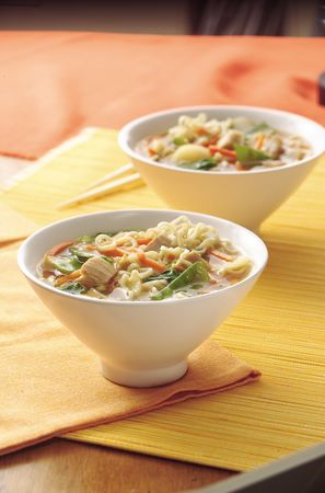 Noodle and Chicken Bowl