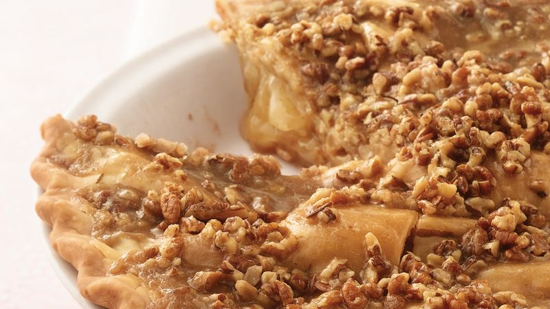 Easy Apple Praline Pie