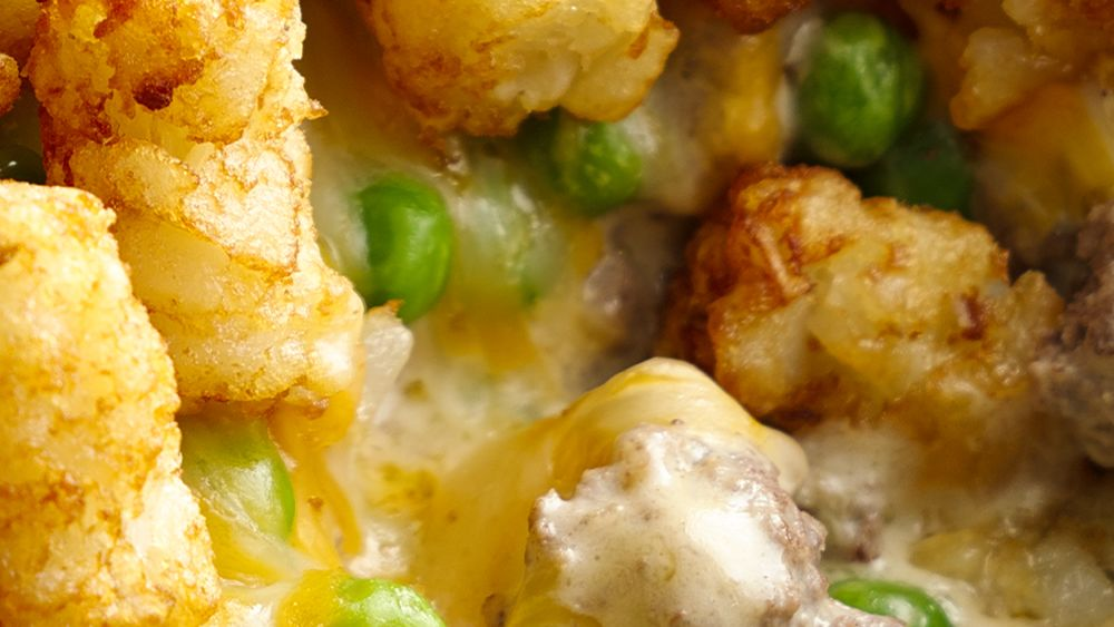 Cheesy Tater Tot Skillet