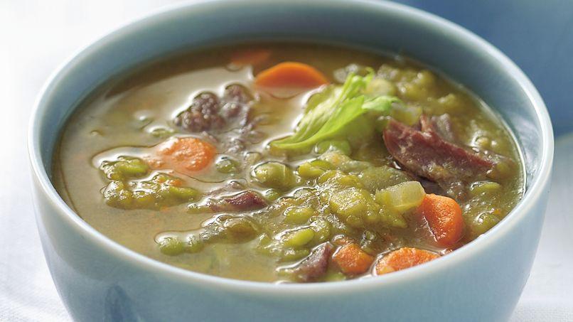 Sopa de Chícharos (Guisantes)