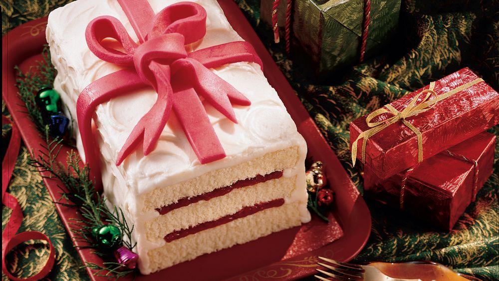 Layered Christmas Cake