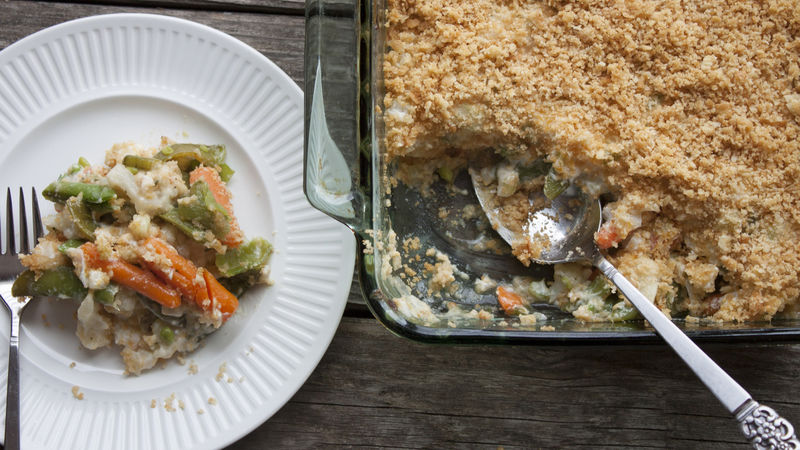 Creamy Baby Vegetable Casserole