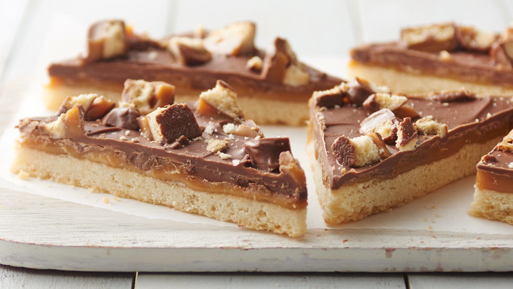Twix™ Cookie Bars