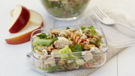 Chopped Chicken Apple Pasta Salad