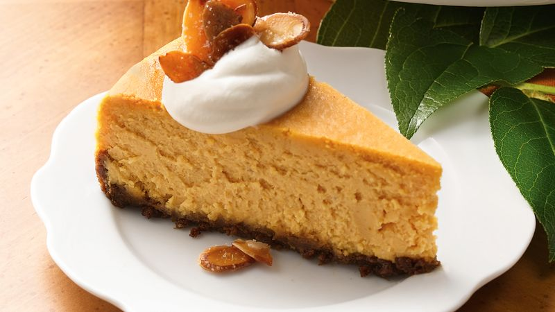 Pumpkin-Caramel Cheesecake