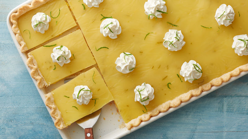 Lemon-Lime Slab Pie