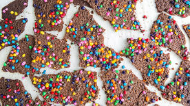 Birthday Cake Brownie Brittle