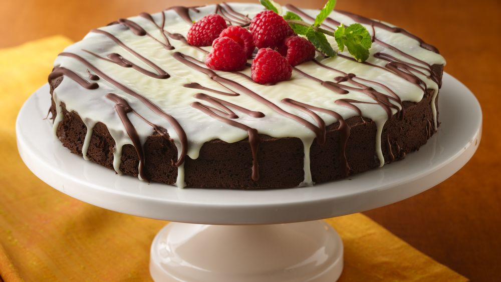Triple-Chocolate Torte