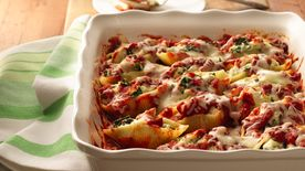 Chicken- and Spinach-Stuffed Shells