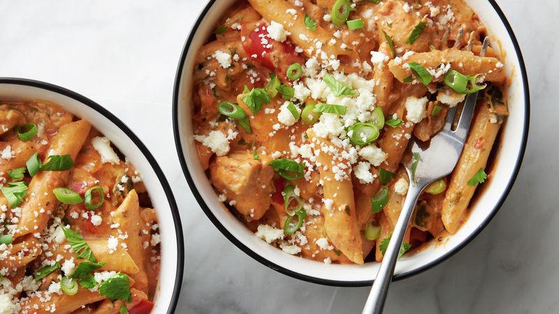 Instant Pot® Creamy Chipotle Chicken Pasta