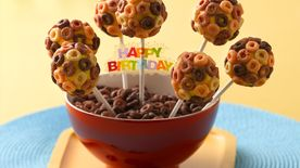 Cheerios® Banana Cake Pops
