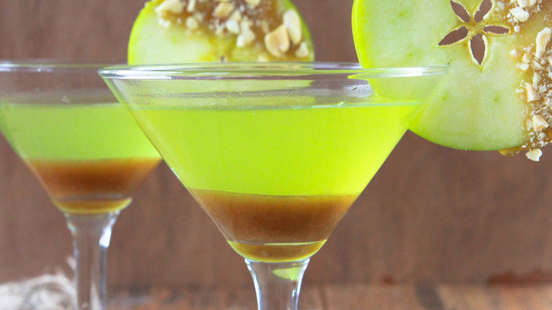 Caramel Apple Martini Recipe Bettycrocker Com