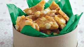 Coconut-Macadamia Nut Brittle