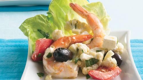 Mediterranean Shrimp Antipasto_image