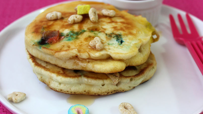 Lucky Charms™ Pancakes