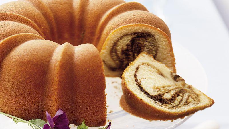 Coffee Swirl Cake