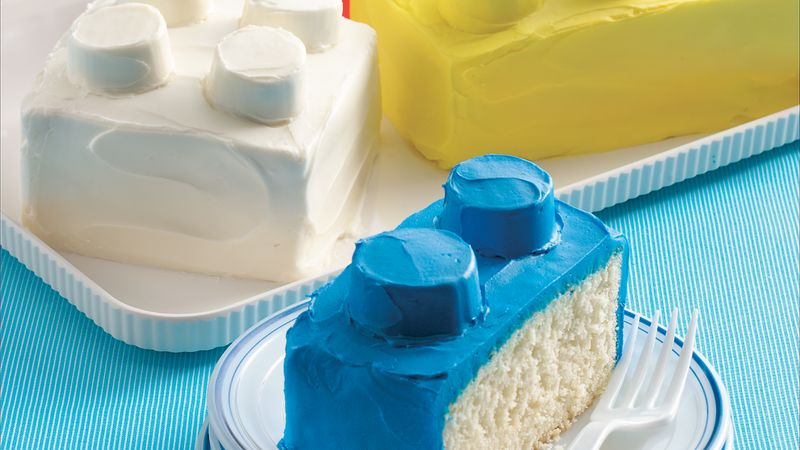Building Blocks Cakes Recipe Bettycrocker