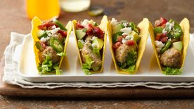 Turkey Meatball Tacos