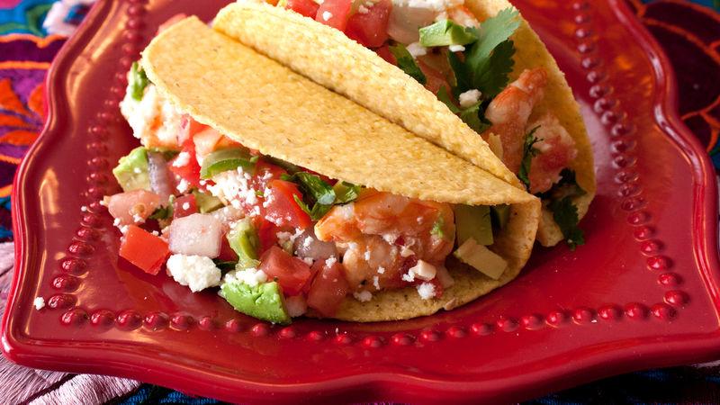 Chipotle Tequila Shrimp Tacos