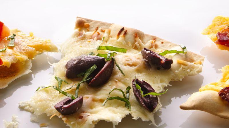 Cheesy Olive Cracker Bread