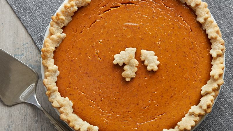 Tempting Pumpkin Pie