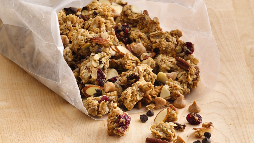 Peanut Butter Cookie Granola