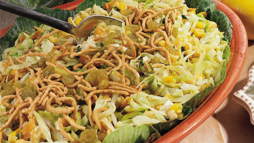 African-Style Skillet Slaw