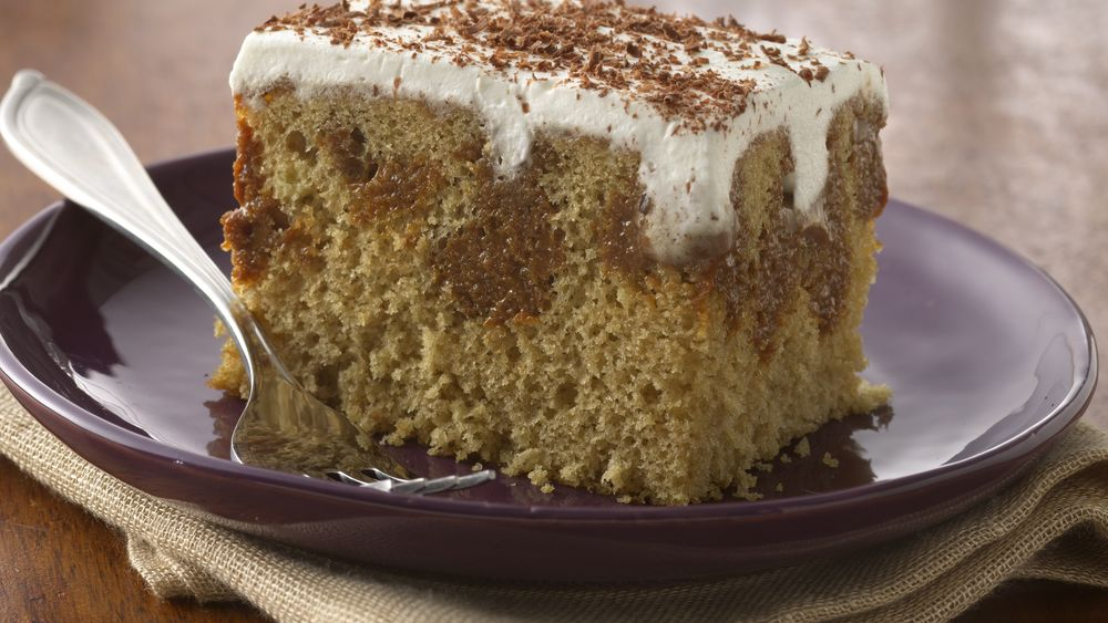 Caramel Latte Cake