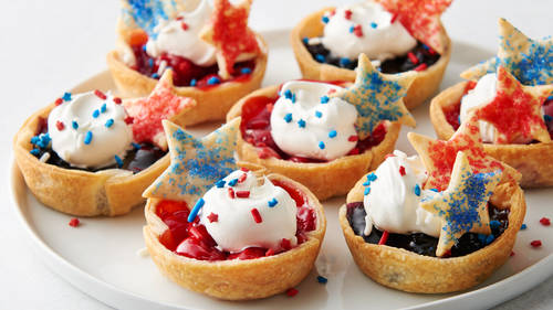 Fourth of July Mini Pie Bites
