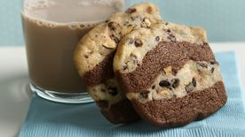Crisp Chocolate-Espresso Ribbon Cookies