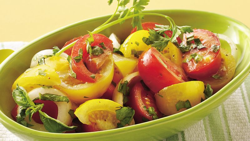 Fresh Tomato-Onion Salad