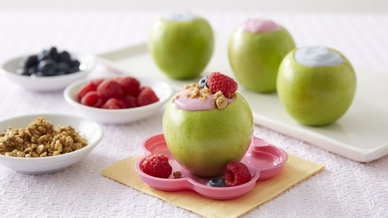 Hello Kitty® Apple Bowls with Yogurt