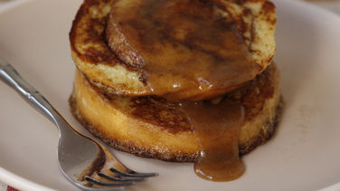 Caramel Roll French Toast